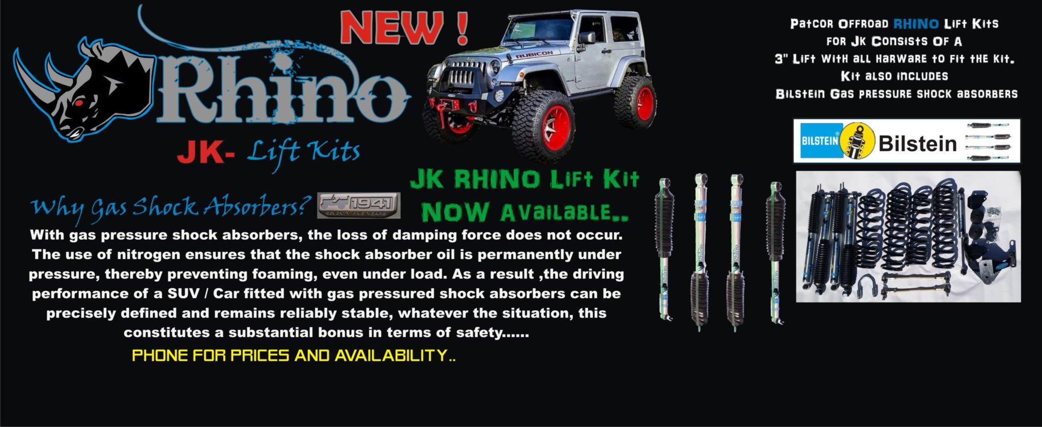 Patcor Offroad Jeep Parts And Accessories