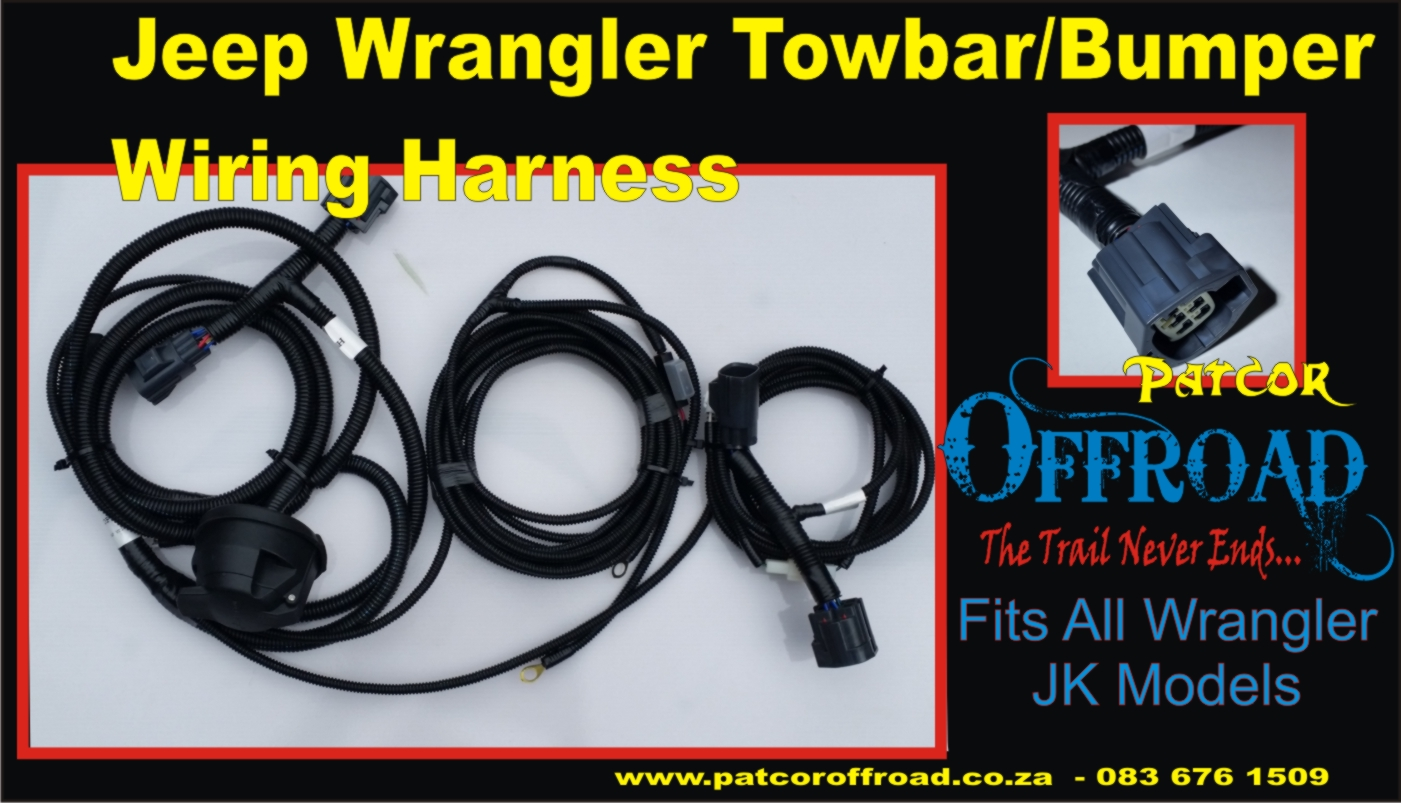 Wiring Harness Jeep Jk Plug And Play Patcor Offroad For