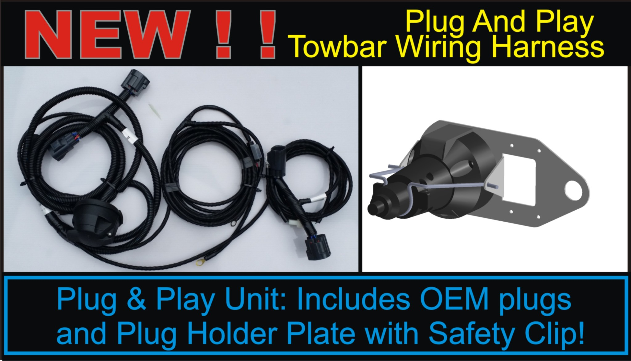 Excellent Wrangler Towbar Harness Plug Play Patcor Offroad Wiring Digital Resources Timewpwclawcorpcom