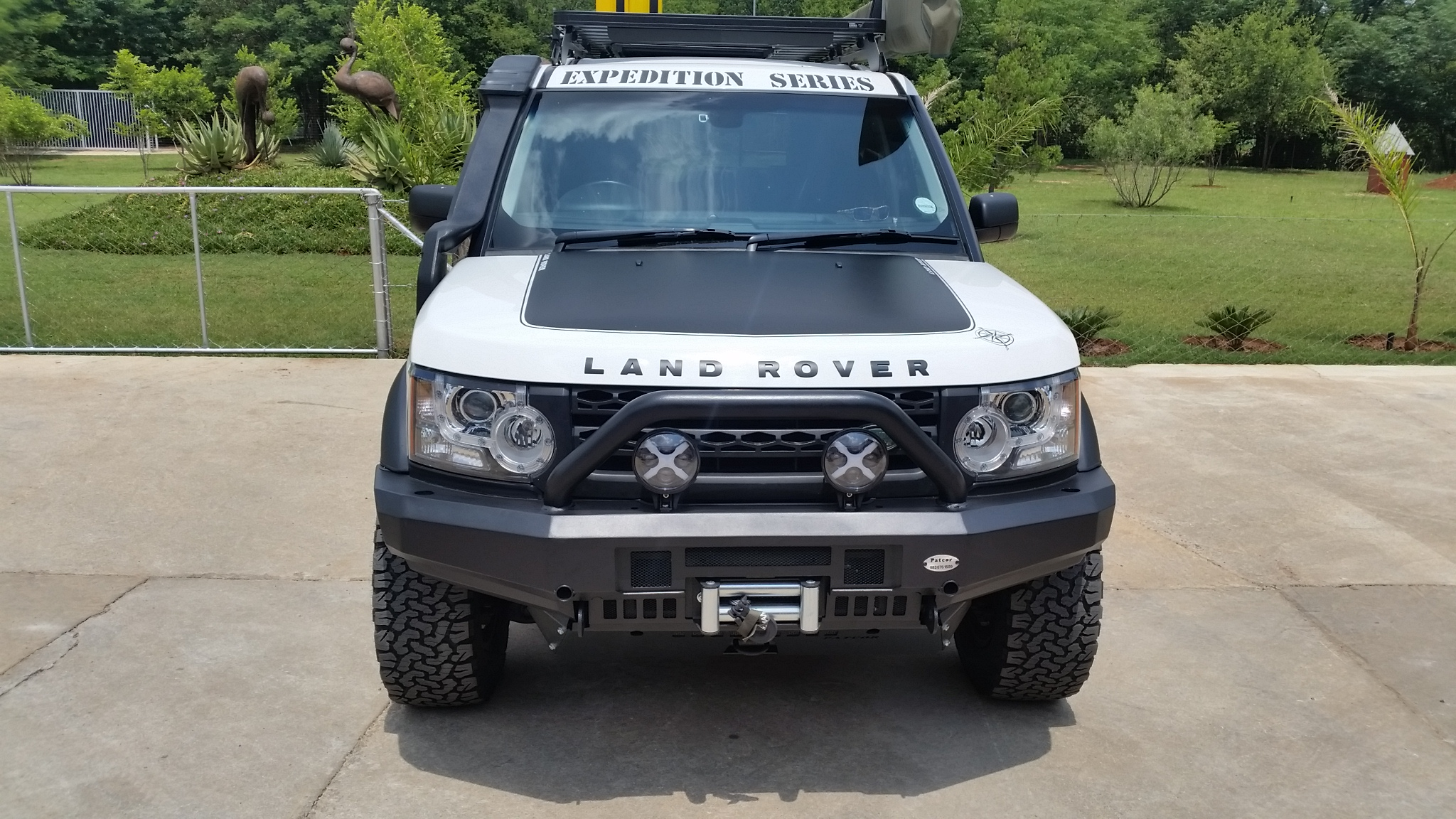 rover img product front ezzybid land com bumper discovery landrover